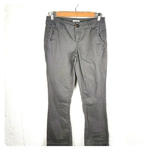 BKE Casuals Mollie Bootcut Gray Pants Size 27R
